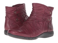 Rockport Cobb Hill Pandora Bordeaux Women's Pull On Boots Burgundy