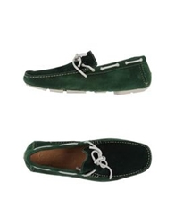 Gold Brothers Moccasins Dark Green