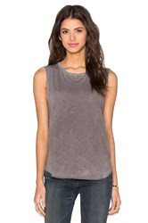 Tyler Jacobs Cut Off Tank Gray