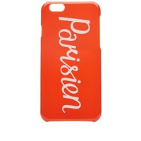 Maison Kitsune Parisien Iphone Case Orange