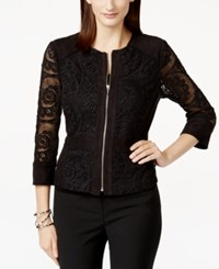 Inc International Concepts Crochet Lace Jacket Only At Macy's