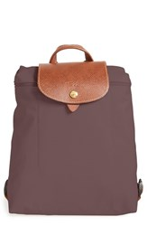 Longchamp 'Le Pliage' Backpack Brown Terra