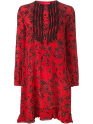 Zadig And Voltaire 'Remus' Dress Red