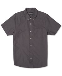 Rip Curl Men's Ourtime Solid Short Sleeve Shirt