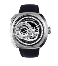Sevenfriday Q1 O1 Automatic Watch Unisex Silver