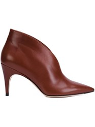 Derek Lam 'Tasha' Booties Brown