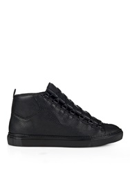 Balenciaga Arena Water Snake High Top Trainers