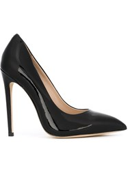 Gianni Renzi Pointed Toe Stilettos Black