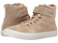 K Swiss High Court Suede Sand Off White Suede Men's Tennis Shoes Brown