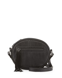 French Connection Jenny Faux Leather Crossbody Bag Black