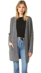 Madewell Dylan Cardigan Heather Flannel