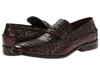 Kenneth Cole Van Tage Point Brown Men's Slip On Shoes