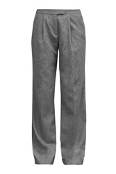 Great Plains Ida Flannel Wide Leg Trousers Grey