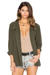 The Great Slouchy Army Jacket Olive