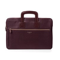 Aspinal Of London Men's Connaught Document Case Burgundy