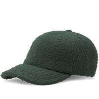 Larose Paris Casentino Wool Baseball Cap Green