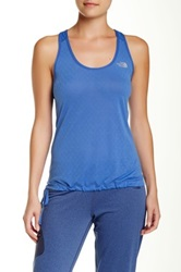 The North Face Eat My Dust Mesh Tank Blue
