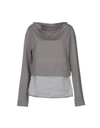 European Culture Sweatshirts Grey