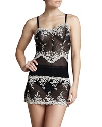 Wacoal Embrace Lace Chemise Black Small
