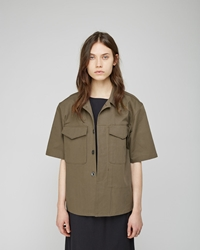 La Garconne Moderne Uniforme Jacket Military