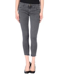Superfine Denim Pants Grey