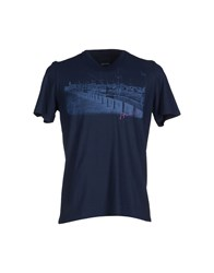 Heritage Topwear T Shirts Men Dark Blue