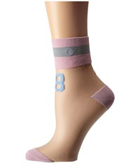Stance 88 Anklet Pink Women's Crew Cut Socks Shoes