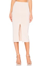 Alice Olivia Spiga Midi Skirt Blush