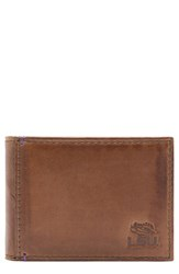 Men's Jack Mason Brand 'Campus Lsu Tigers' Front Pocket Wallet