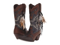 Durango Crush 12 W Feather Brown Black Cowboy Boots
