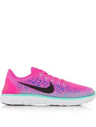 Nike Free Rn Distance Running Shoes Pink