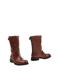 Marella Ankle Boots Brown
