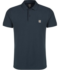 Bench Crystalline Plain Regular Fit Polo Shirt Navy