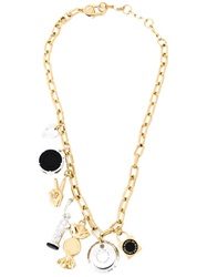 Marc By Marc Jacobs 'Lost And Found' Necklace Metallic