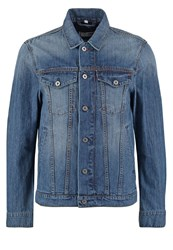 Mustang Denim Jacket Denim Blue Blue Denim