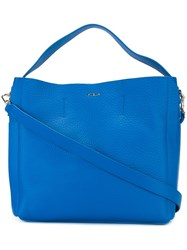 Furla 'Capriccio' Hobo Bag Blue