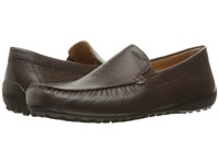 Geox Msnakemoc2fit3 Dark Brown Men's Shoes