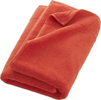 Cb2 Smith Orange Bath Towel