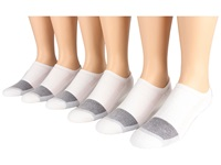 Fox River Wick Dry Triathlon Ankle Cool Max X Training 6 Pair Pack White No Show Socks Shoes