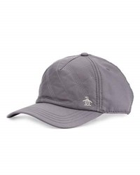 Penguin Quilted Baseball Cap Grey