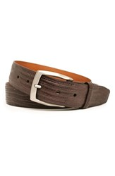 Men's Trafalgar 'Chadwick' Lizard Leather Belt