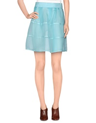 Felipe Oliveira Baptista Knee Length Skirts Sky Blue