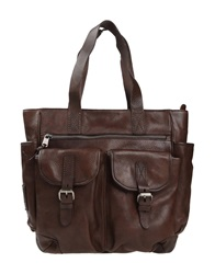 Napapijri Handbags Dark Brown