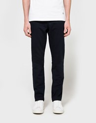 Maison Kitsune Overdyed Slim Cut Pant Dark Navy