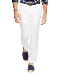 Polo Ralph Lauren Solid Straight Fit Pants White