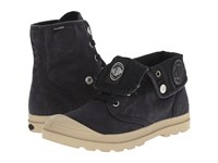 Palladium Baggy Low Lp Black Putty Women's Lace Up Boots