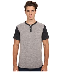 Matix Clothing Company Standard Short Sleeve Baseball T Shirt Heather Grey Men's T Shirt Gray