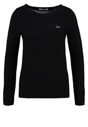 Lacoste Jumper Noir Black