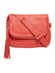 Dickins And Jones Large Kerry Crossbody Bag Red