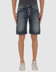 Acht Denim Bermudas Blue
